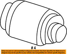 FORD OEM-Windshield Wiper Motor 6U2Z17V508SARM