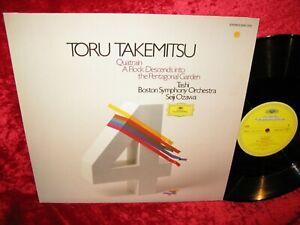 1980 GERMAN NM DG 2531 210 STEREO TORU TAKEMITSU QUATRAIN, A FLOCK DESCENDS INTO