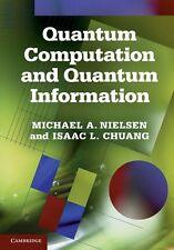 Quantum Computation and Quantum Information by NIELSEN