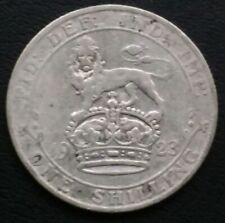 GEORGE V 1923 SHILLING VERY NICE CONDITION