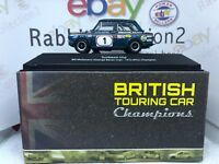 "DIE CAST "" SUNBEAM IMP - 1972 "" BTCC CHAMPION SCALA 1/43 BRITISH TOURING CAR"
