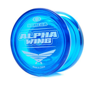 NEW Yomega High Performance YoYos YoYo Yo-Yo Yo - ALPHA WING BLUE - Rookie Level