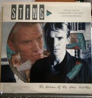 STING - THE DREAM OF THE BLUE TURTLES -33 giri vinile LP Pictures disc 1985