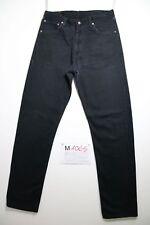 Levi's 521 nero (Cod.M1065) Tg.50 W36 L36 boyfriend  jeans usato