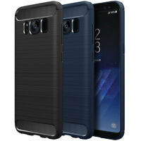ebestStar Housse Coque Silicone Carbone Samsung Galaxy S9 S9+ S8 S8+ S7 S7 Plus