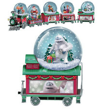 Rudolph The Red Nosed Reindeer  Water / Snow Globe Dome Train # 5 Only