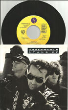 UNDERWORLD Stand Up / Outkirts RARE MIXES ORIGINAL 1989 USA 7 INCH vinyl &SLEEVE
