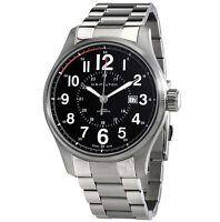 Hamilton Khaki Field Officer Auto Black Dial Stainless Steel Watch H70615133