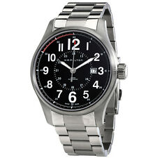 Hamilton Khaki Field Officer Auto Black Dial Stainless Steel Watch H70615133