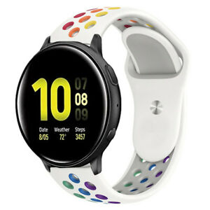 Watch Band Silicone Sport Strap For Samsung Galaxy Watch Active 2 40 44 42 41mm