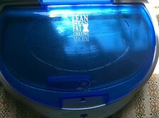 Used Condition Original George Foreman Grill Blue Bread Warming Lid Small Burger
