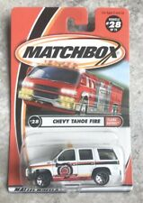 Matchbox Flame Eaters Chevy Tahoe Fire #28 H2O Force