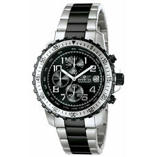 Invicta Men's 6398 II Collection Chronograph Stainless Steel and Black Watch