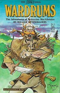 JOURNEY: WARDRUMS #1 AUG 1987 ADVENTURES OF WOLVERINE MACALLISTAIRE
