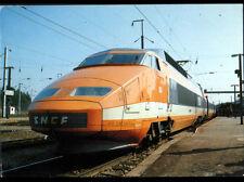 DOLE (39) TRAIN TGV des USINES de BELFORT en GARE de DOLE en 1981