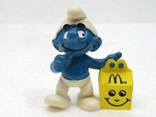PUFFO HAPPY MEAL-Mc Donald's SERIE SPECIALE INGLESE-USATO COME FOTO-SMURFS