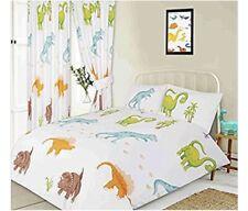 Junior Duvet Cover and Pillowcase Set Dinosaurs Kidz Collection NEW (O)