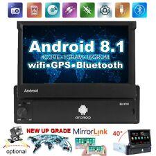 Android 8.1 GPS Navi Autoradio WiFi Bluetooth 7 '' pieghevole Schermo MP5 1Din