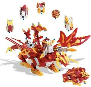 2010 Sega Bakugan Dragonoid Colossus Red Dragon