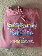 John Mayer x Lisa Frank Current Mood Hoodie Maroon Large  Limited Edition