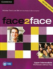 CAMBRIDGE face2face Upper-Intermediate SECOND EDITION Workbook without Key @NEW@