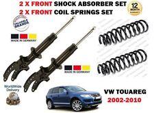 PARA VW TOUAREG+R5 02-10 2 X AMORTIGUADORES DELANTEROS SET + 2 X