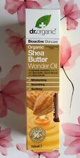Dr. Organic - Shea Butter Wonder Oil - 150ml, Nourishing Body Oil, Vegan