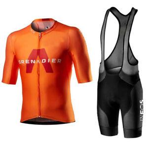 Mens Ineos cycling jersey and bib shorts cycling jerseys cycling shorts