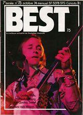 Best Magazine October 1974 CSNY FUN 3 Degrees Ojays Stomu Yamash