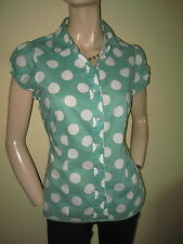 Boden Cotton Collared Short Sleeve Tops & Shirts for Women