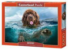 "Brand New Castorland Puzzle 1000 Big Brown 27"" x 17.5""  C-103478"