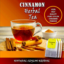 Ceylon Cinnamon Tea bags-100% Natural herbal High quality Sri Lankan-25 tea bags