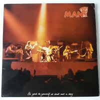 Man - Be Good To Yourself At Least Once A Day - Vinyl LP UK 1st Pop-up Sleeve