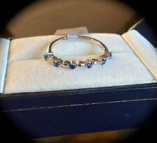 Sapphire Treated Fine Gemstone Rings