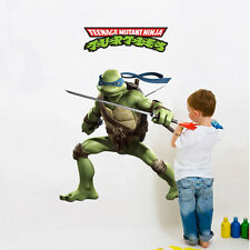 Teenage Mutant Ninja Turtles TMNT Wall Stickers Decal Nursery Kids Baby Decor