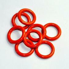 5pc Tube Dampers Silicone O-Ring fit 12AX7 12AU7 12AT7 12BH7 EL84 for audio amp