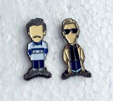 Bex & Yeti The Firm Ultras Pin Badges A Guy Called Minty, Casual Connoisseur Etc
