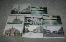 9 1910 era Stewartville Minnesota Postcards