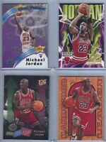 Michael Jordan Lot of 11 Cards, Star Power, Gold Medallion NBA Chicago Bulls