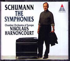 Nikolaus Harnoncourt: Schumann Symphony No. 1 2 3 4 ga 2cd Spring reinische