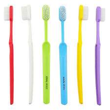 6PCS/lot Dr.Perfect Adult Manual Toothbrush Teeth Whiening Super Hard For Smoker