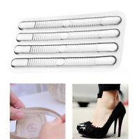 4pcs Useful Shoe Back Heel Inserts  Silicone Gel Pads Cushion Liner Grips