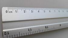 Lineal Aluminium 30 cm 12inch Aluminiumlineal Alu Metall Schneidkante