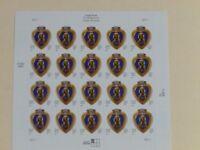 United States Scott 3784 the 2003 37c Purple Heart Sheet of 20 Mint