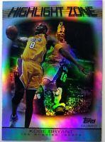 2003-04 Topps Highlight Zone Kobe Bryant #HZ-20, Insert, Los Angeles Lakers