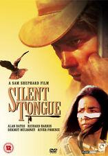 DVD:SILENT TONGUE  - NEW Region 2 UK