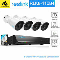 Reolink 8CH HD PoE 5MP IP Security Camera Surveillance System NVR RLK8-410B4-5MP