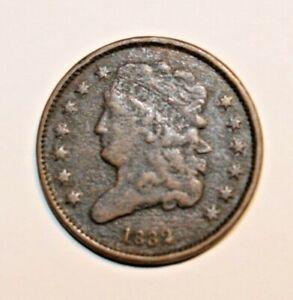 1832  Classic Head Half Cent.