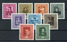 Liechtenstein n. 268-276 ** dipinto 1949 me 90,- + +!!! (133647)
