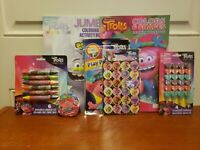 Trolls World Tour Activity & Coloring Books, Crayons, Stickers Kids Ages 3 & Up